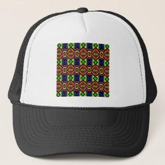 Abstract 3D Pattern Trucker Hat