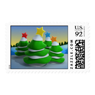 Abstract 3d people stamp - Customized