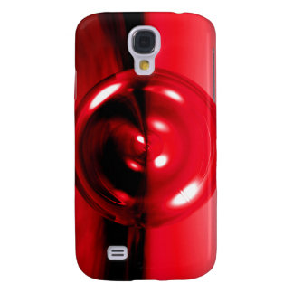 Abstract 3D Red Disc Case for Samsung Galaxy