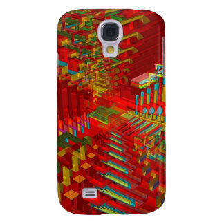 Abstract 3D Shapes: Samsung S4 Case