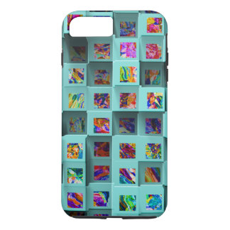 Abstract 3D Shelf Effect. Three Dimensional iPhone iPhone 8 Plus/7 Plus Case