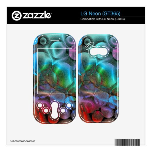 Abstract 43 skins for the LG neon