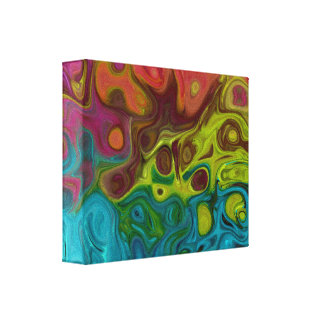 Abstract 4444 777 canvas print
