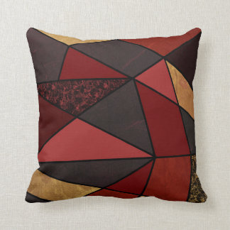 Abstract #467 throw pillow