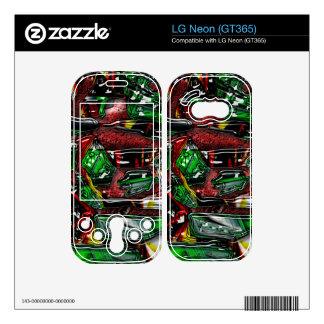 Abstract 48 LG neon skins