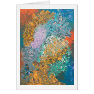 Abstract 51 - Blank Inside Card