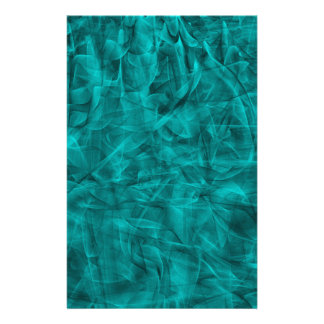 abstract-530844 abstract teal blue shiny swirls ba customized stationery