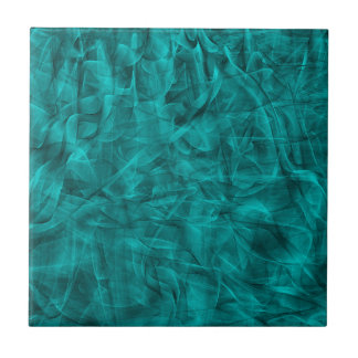abstract-530844 abstract teal blue shiny swirls ba ceramic tile
