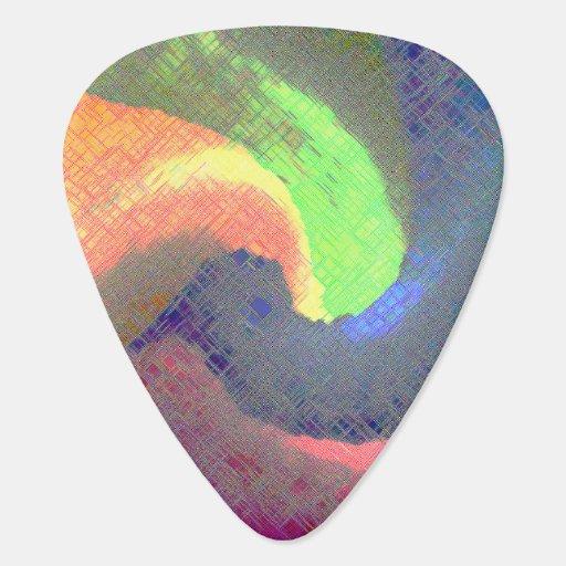 Abstract 5 - Guitar Pic Guitar Pick