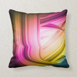 Abstract 60's American MoJo Pillow