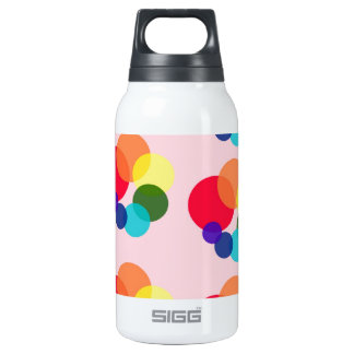 abstract #6 insulated water bottle