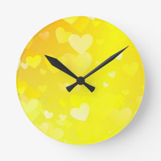 abstract #6 round clock