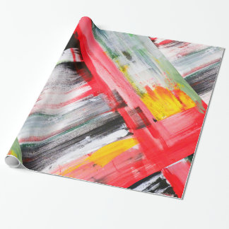 Abstract 7017 wrapping paper
