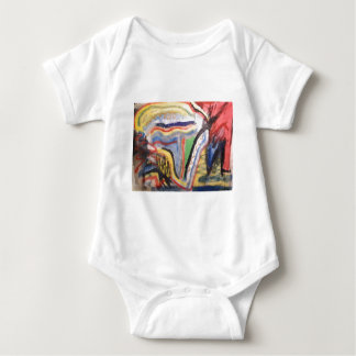 Abstract 715 baby bodysuit