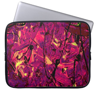 Abstract #787 laptop sleeve