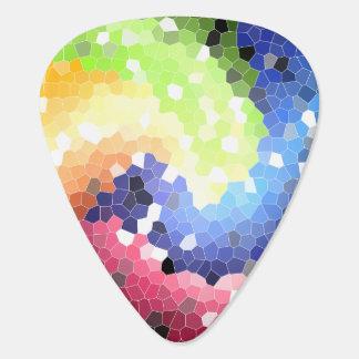 Abstract 7 - Guitar Pic Guitar Pick