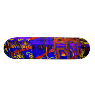 abstract 818 skateboard deck