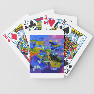 abstract 8861012.JPG Bicycle Playing Cards