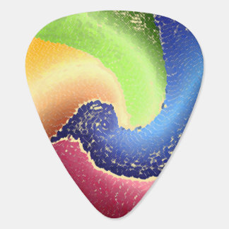 Abstract 8 - Guitar Pic Guitar Pick
