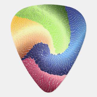 Abstract 9 - Guitar Pic Guitar Pick