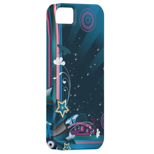 Abstract 9c iPhone SE/5/5s case