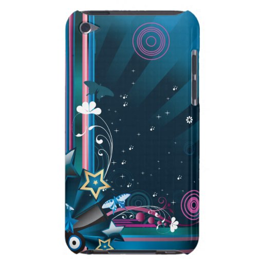 Abstract 9c iPod touch case