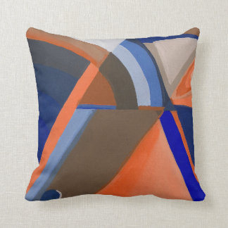 """Abstract A"" Pillow by Alicia L. McDaniel"