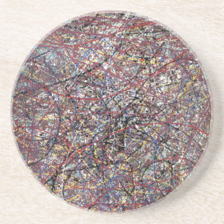 Abstract & Absorbent Drink Coaster