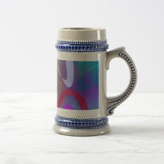 Abstract Abstract Blue Hue Mug
