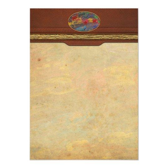 Abstract - Acrylic - Anger Joy Stability Card