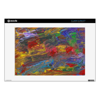 """Abstract - Acrylic - Anger Joy Stability Decal For 13"""" Laptop"""