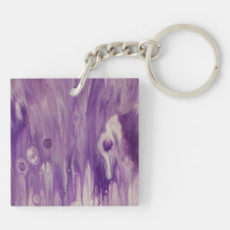 """Abstract Acrylic Double-Sided Keychain """"Exalted"""""""