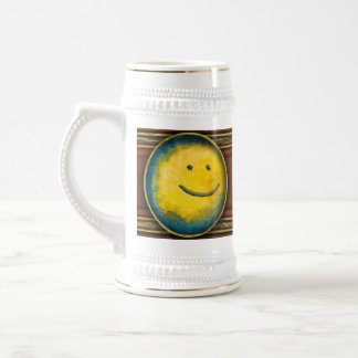 Abstract - Acrylic - Happy abstraction Beer Stein