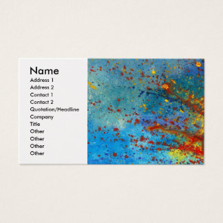Abstract - Acrylic - Just another Monday Business Card