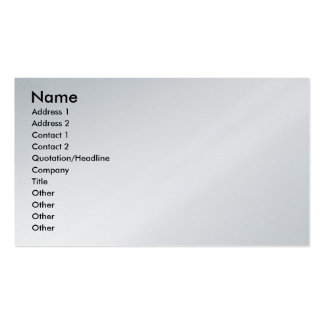 Abstract - Acrylic - Lost in the city Double-Sided Standard Business Cards (Pack Of 100)