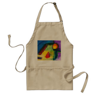 Abstract - Acrylic - Primitives Adult Apron