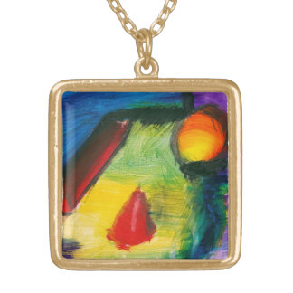 Abstract - Acrylic - Primitives Personalized Necklace