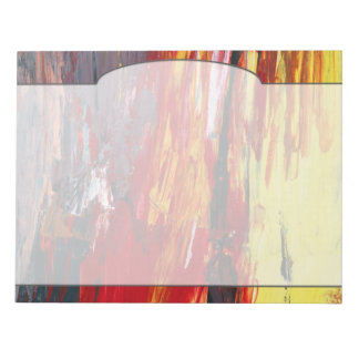 Abstract - Acrylic - Rising power.jpg Notepads