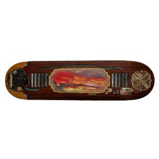 Abstract - Acrylic - Rising power.jpg Skateboard Deck