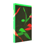 Abstract Aerobic Dance Wrapped Canvas Print