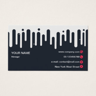 Abstract Aestheticism Business Card