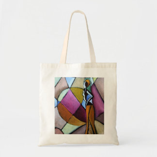 Abstract African Woman Bag