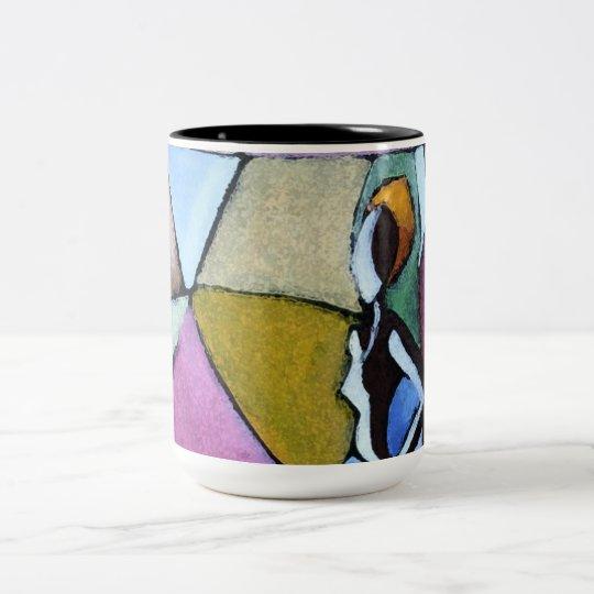 Abstract African Woman Mug