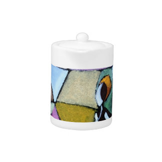 Abstract African Woman Teapot