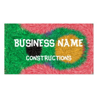 Abstract alien pattern Double-Sided standard business cards (Pack of 100)