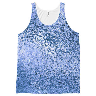 Abstract All-Over Printed Unisex Tank