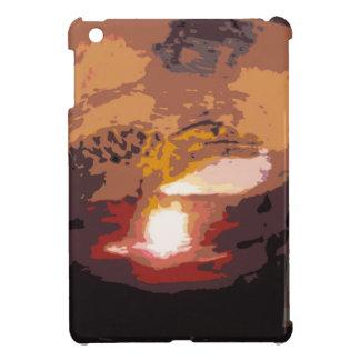 Abstract Alligator Reptile Art iPad Mini Cover