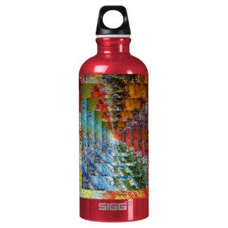 Abstract Aluminum Water Bottle