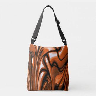 Abstract Amber Ocean Tote Bag