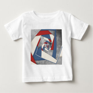 Abstract America Collage 2 Baby T-Shirt